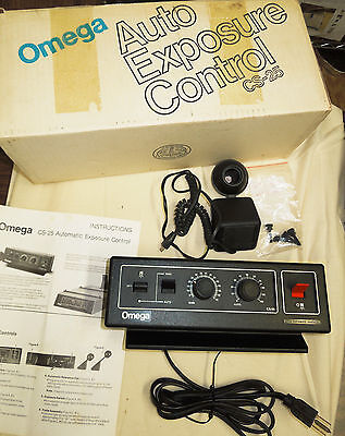 Omega CS-25 Auto Exposure Control 480-700 in origional box