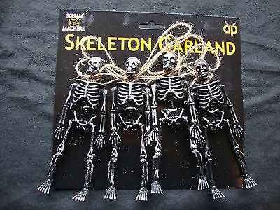 Halloween dark Skeleton Garland Halloween Party Decoration FREE P&P