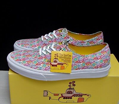 f901d651458d30 VANS AUTHENTIC THE Beatles All You Need is Love Men s Size 10.5 ...