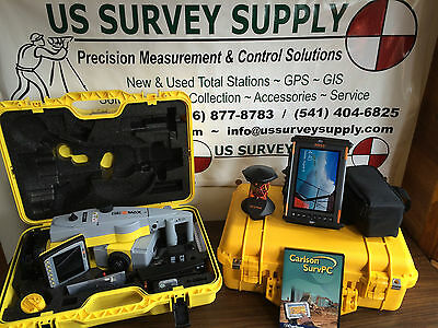 "Geomax 5"" Zoom90 A10 Reflectorless Robotic Total Station w/ Carlson - Financing"