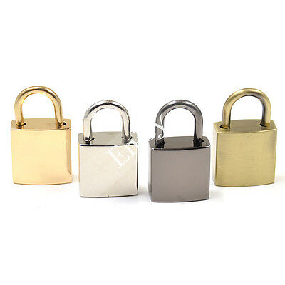 Vintage Square Padlocks With Key Travel Luggage Suitcase Alloy Lock Fashion New
