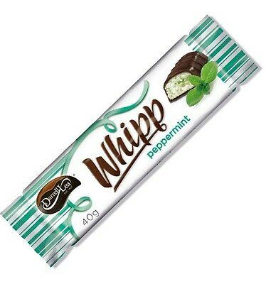 Darrell Lea Chocolate Peppermint Nougat Bar 40g x 25