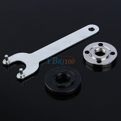 """5.12"""" Angle Grinder Wrench Spanner Flange Nuts Fit Cutting and Grinding discs"""