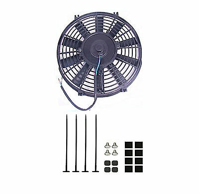 10 Inch Slim Line Radiator Cooling Fan 12V Universal - Uk
