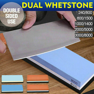 Water Stone Whetstone Knife Sharpener Sharpening Flattening 1000/4000 3000/8000