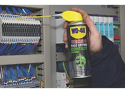Contact Cleaner Fast Drying WD40 250ml Smart Straw Spray Electric Equipment Tool