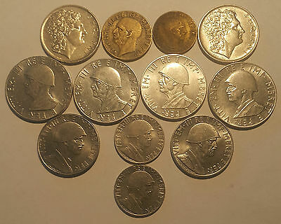 ALBANIA / Lot of 12 Coins !!