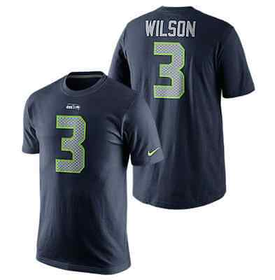 Seattle Seahawks Nike Player Home T-Shirt - Russell Wilson