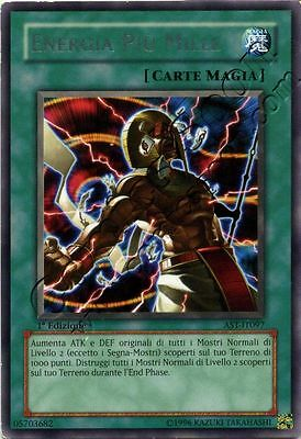 Yu Gi Oh AST 097 - Energia Più Mille / Thousand Energy - R NMINT ITA