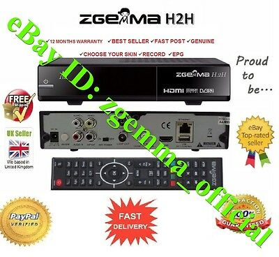 Zgemma H.2S Satellite Box ✔Dual Core ✔Twin Tuner ✔Plug & Play ✔Fast & Secure