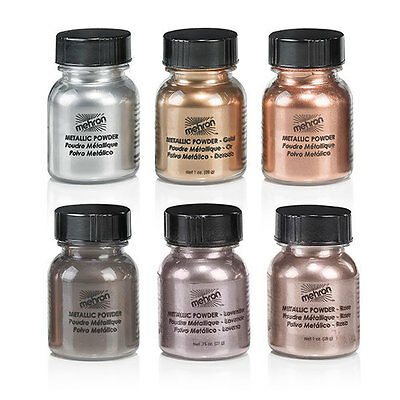 MEHRON Metallic Powders (129) .5oz ALL COLORS