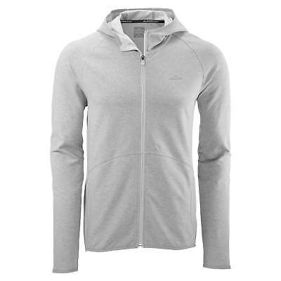 Kathmandu Firmus Mens Active Running Jacket Fitness Sports Hoody Top v2 Grey
