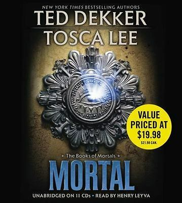 MORTAL (The Book Of Mortals) unabridged audio book on CD by TED DEKKER