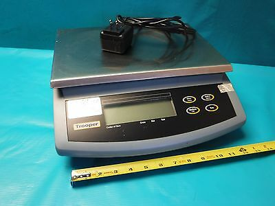 Used Ohaus Trooper Tr3Rs Bench Scale Max 3Kg/6Lb