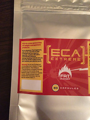 ECA extreme slimming pills fat burners 60 caps - weight loss - diet pills