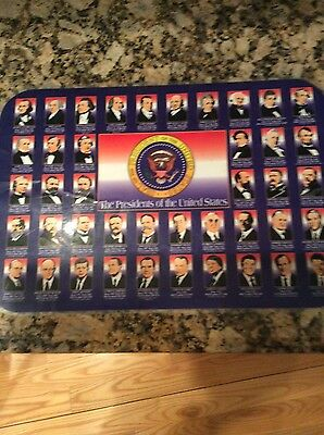The Presidents Of The United States Placemat