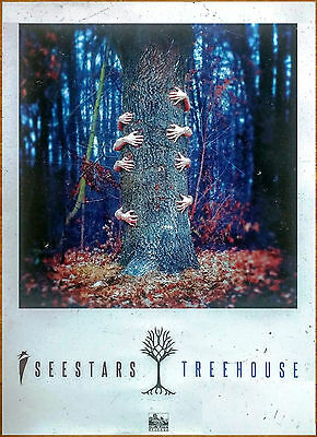 I SEE STARS Treehouse Ltd Ed Discontinued HUGE New RARE Poster +FREE Rock Poster