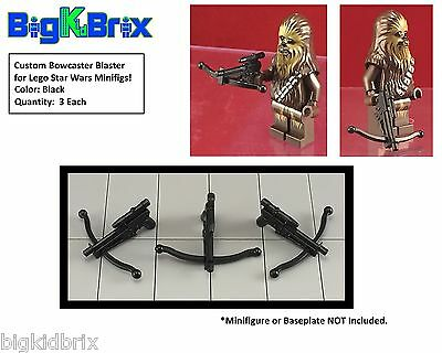 x5 Each EE3 Blasters for LEGO Star Wars Boba Fett Mandalorian Minifigs BLACK #4