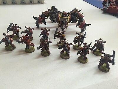 WARHAMMER Chaos - 13 Units   - painted And Ready To Play :)