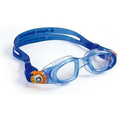 Aqua Sphere Moby Kids Swimming Goggles - Blue