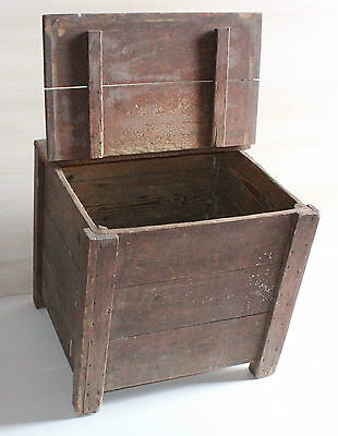 old Box with hinged cover