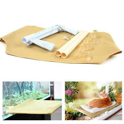 Cat Window Mounted Bed Seat Pets Sunny Hammock Wall Cover Washable Comfortable