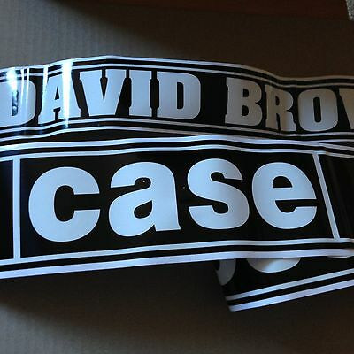 Case David Brown Budget Decals 990