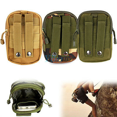 Utility Outdoor Tactical military Waist Belt Bag Pack Wallet Pouch Phone Pocket
