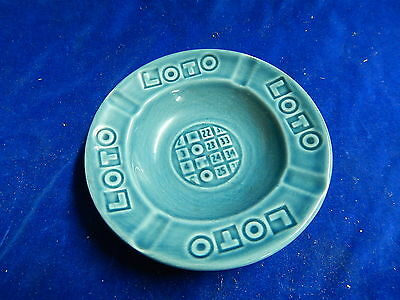 CENDRIER ANCIEN / Old ashtray - FRANCE - GIEN - LOTO - NEUF / Unused - TOP !