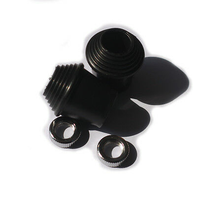 Threaded Rubber Feet or Tips for Bass Drum Spurs Fits Most Spurs 2 Pack