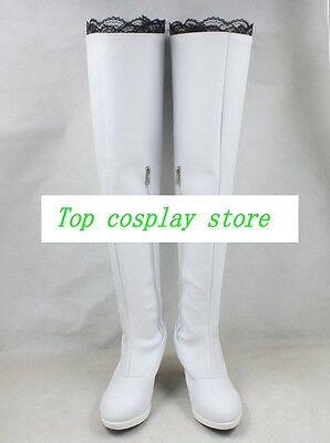 RWBY 2 Weiss Schnee Cosplay Boots shoes shoe boot #CQ078