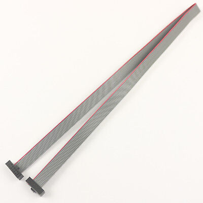 1Pcs 1.27mm Pitch 10 Pin 10 Wire Extension IDC Flat Ribbon Cable Length 30CM