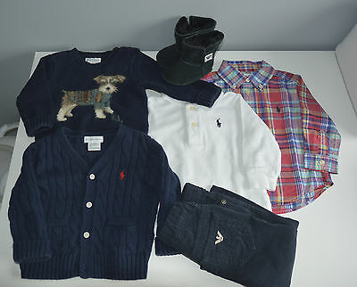 Lot baby clothing 9M Armani & Ralph Lauren