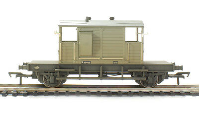 38-401A Bachmann 00 Gauge SR Pill Box Brake Van BR Grey (Weathered) New & Boxed