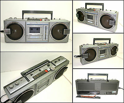 JVC RC-660 2 Way 4 Speaker Radio Cassette Boombox