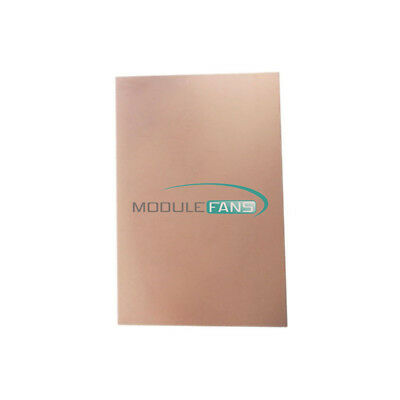 10X7.5cm FR4 Copper Clad Laminate Sheet Circuit Double side PCB 75x100x1.5mm MF