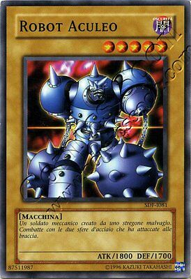 Yu Gi Oh SDF 081 - Robot Aculeo / Spikebot - C NMINT ITA