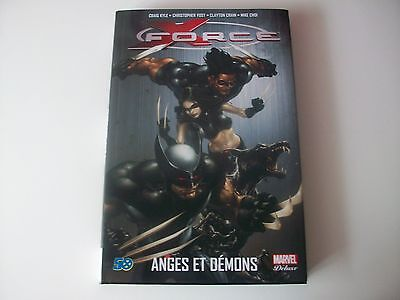 X Force Anges Et Demons Marvel Deluxe Panini Comics Comme Neuf