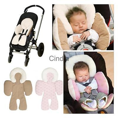 Cotton Baby Safety Soft Pram Stroller Cushion Pad Car Seat Liners Pushchair Mat
