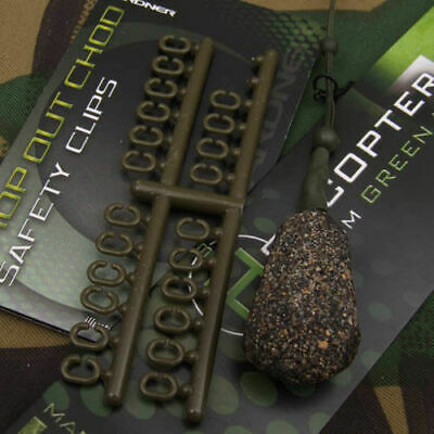 Gardner Tackle Drop Out Safety Clips - Carp Barbel Tench Bream Coarse Fishing