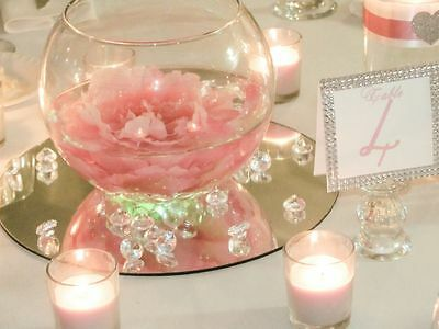 10pcs Round Gl Mirror Wedding Party Table Decorations Centerpieces 3 Sizes