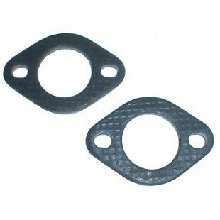 2 Bolt Exhaust Port Flanges 1 1/2 Id 2 Pack Fits VW Bug # CPR251106
