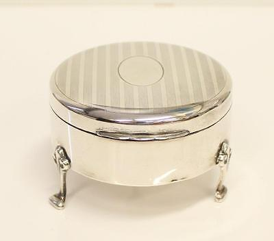 Birks Sterling Silver Jewelry Box 8.5+ out of 10 condition & no monogram