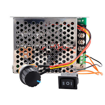 10-50V 40A PWM DC Motor Speed Controller CW/CCW Reversible Pulse Driver TE535