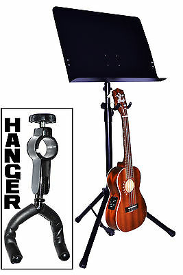 Ukulele Hanger. Attaches To Music Stand Upright - New