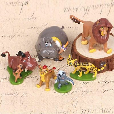 NEW Disney The Lion Guard Lion King  Set of 6 Figures Cake Toppers