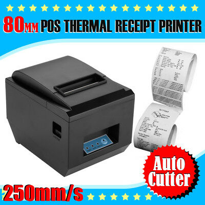 80mm POS USB Bluetooth Wireless Thermal Receipt Printer for Android IOS Windows