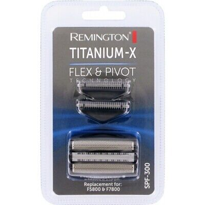 Remington Titanium -X Spf300 Foil & Cutter, F5800 F7800 F7805, Flex And Pivot