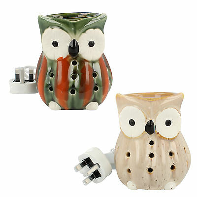 Aroma Accessories Owl Electric Wax Melt Burner 2 colours VC966