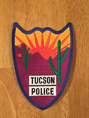 Defunct Tucson Arizona Old Style Police Patch